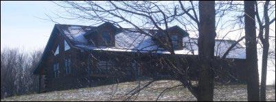 Illustrated History of Log Cabins, homesteading, homestead