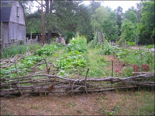 old-fashioned fencing