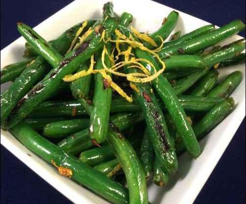 Lemon Garlic Green Beans, fresh green bean recipe