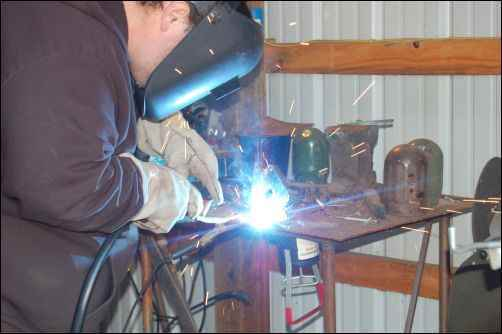 welding helmet learn weld