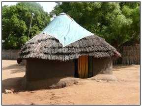 Sudan Juba hut