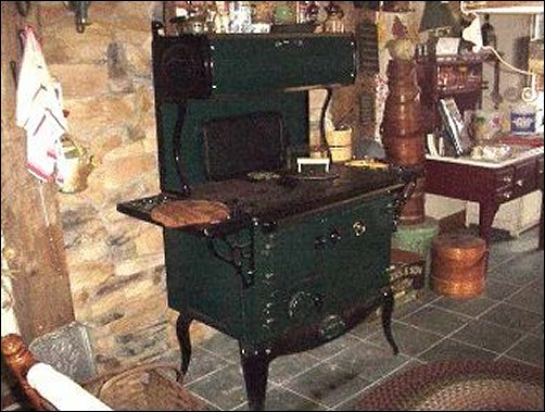 Cooking on a Wood Cookstove