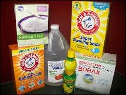 Baking Soda & White Vinegar