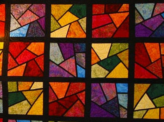stained glass quilt patterns, homesteading