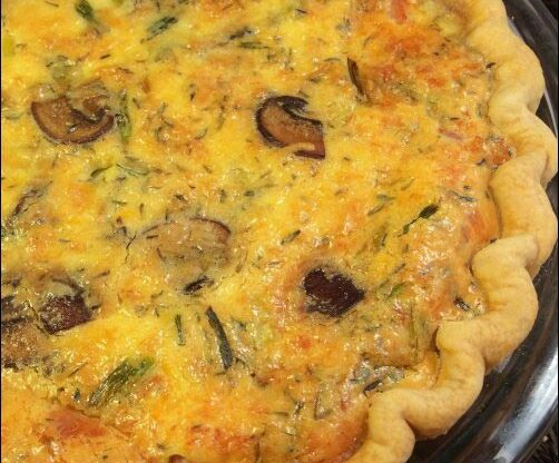 By changing up the ingredients in this quiche recipe, the possibilities are endless, making it easy to please everyone's palate.