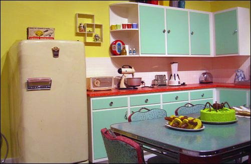 evolution of kitchens in the 1950s