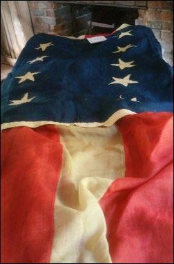antique-American-flag