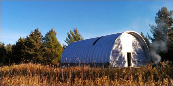 Pros & Cons of Living in an Alternative Home: Steel Quonset