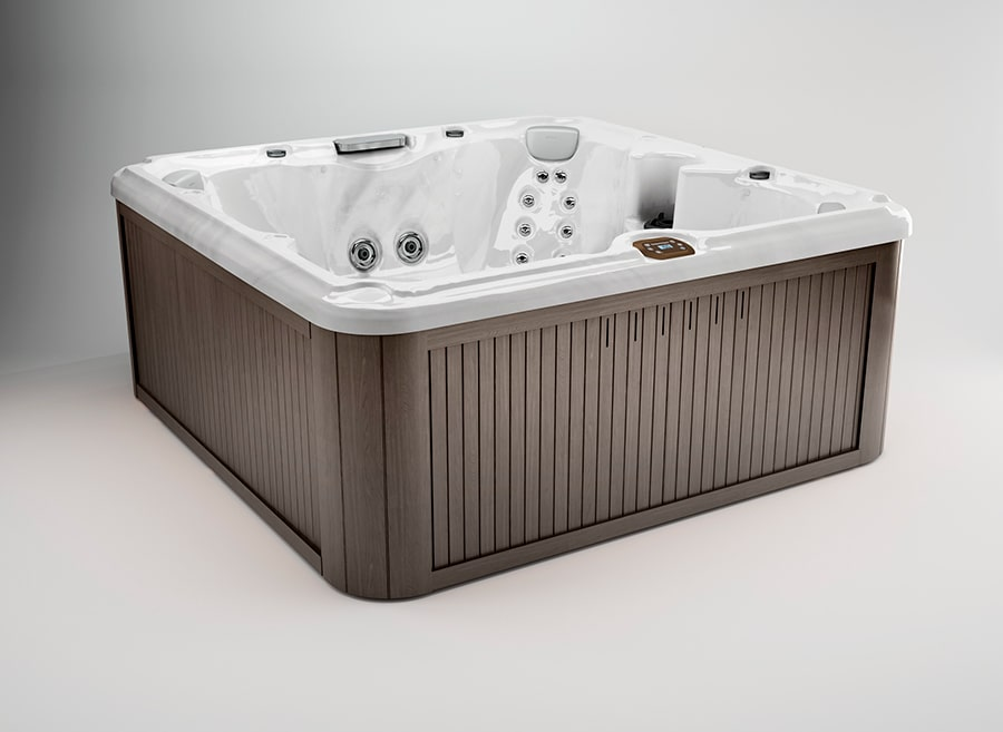 Edison® hot tub in