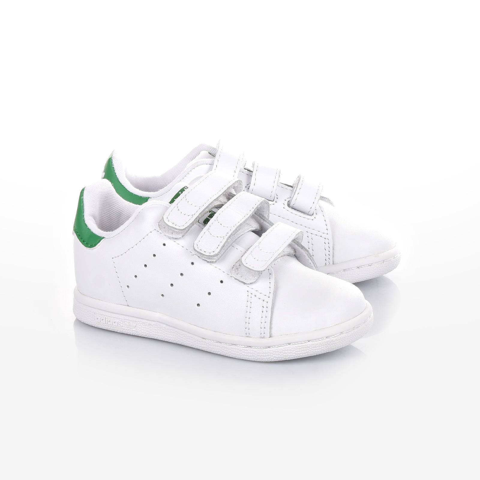 adidas Originals - STAN SMITH CF I - FTWWHT FTWWHT GREEN 0251fa54107
