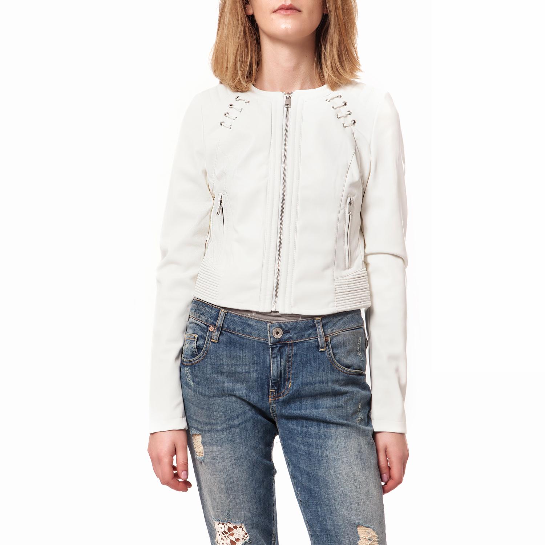 GUESS - Γυναικείο μπουφάν Guess λευκό 71d42dfb057