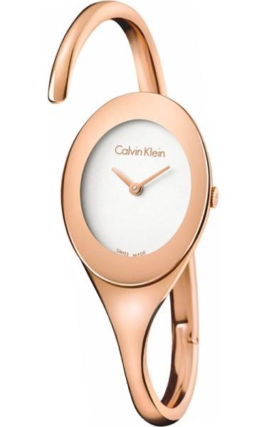 CALVIN KLEIN Embrace Rose Gold Stainless Steel Bracelet K4Y2L616 8206f7f39e6