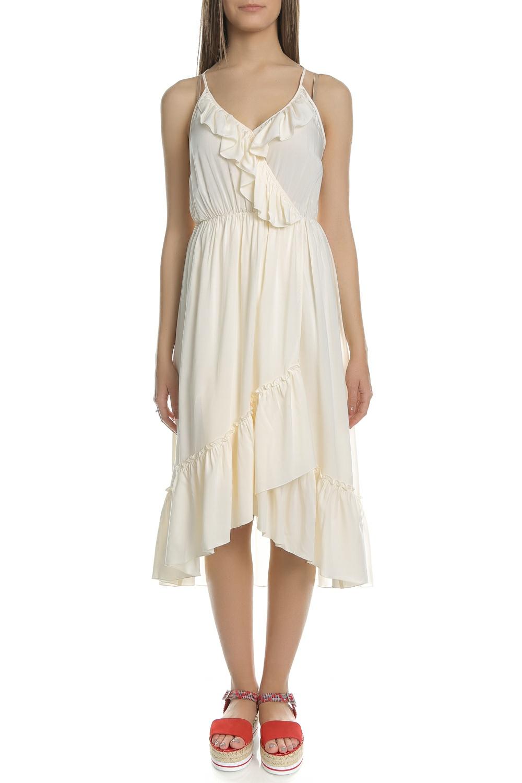 080c1d5ff2e2 SCOTCH   SODA Γυναικείο μίντι φόρεμα SCOTCH   SODA εκρού 6209852 ...