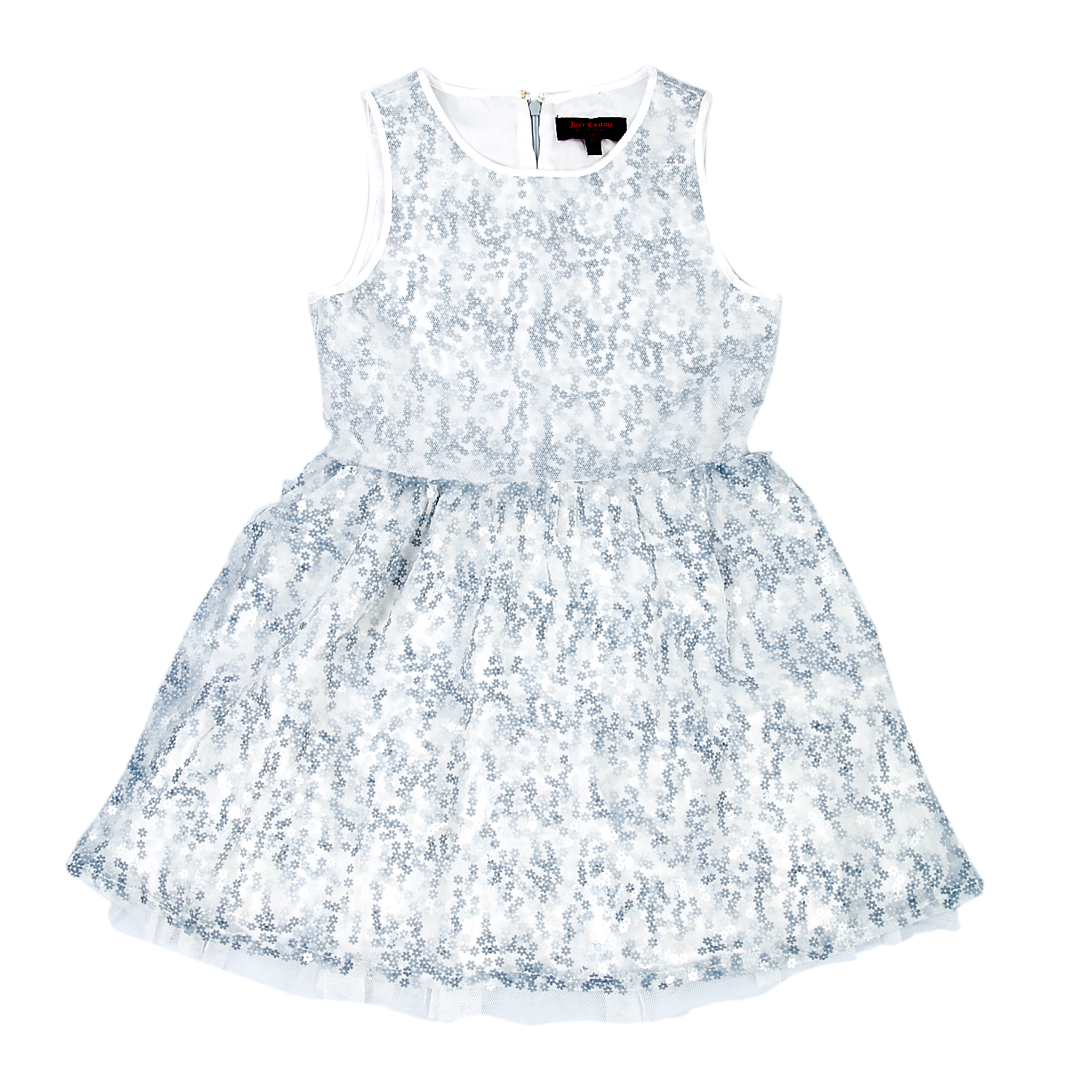 JUICY COUTURE KIDS - Παιδικό φόρεμα Juicy Couture μπλε-λευκό 0ac5be21ae3