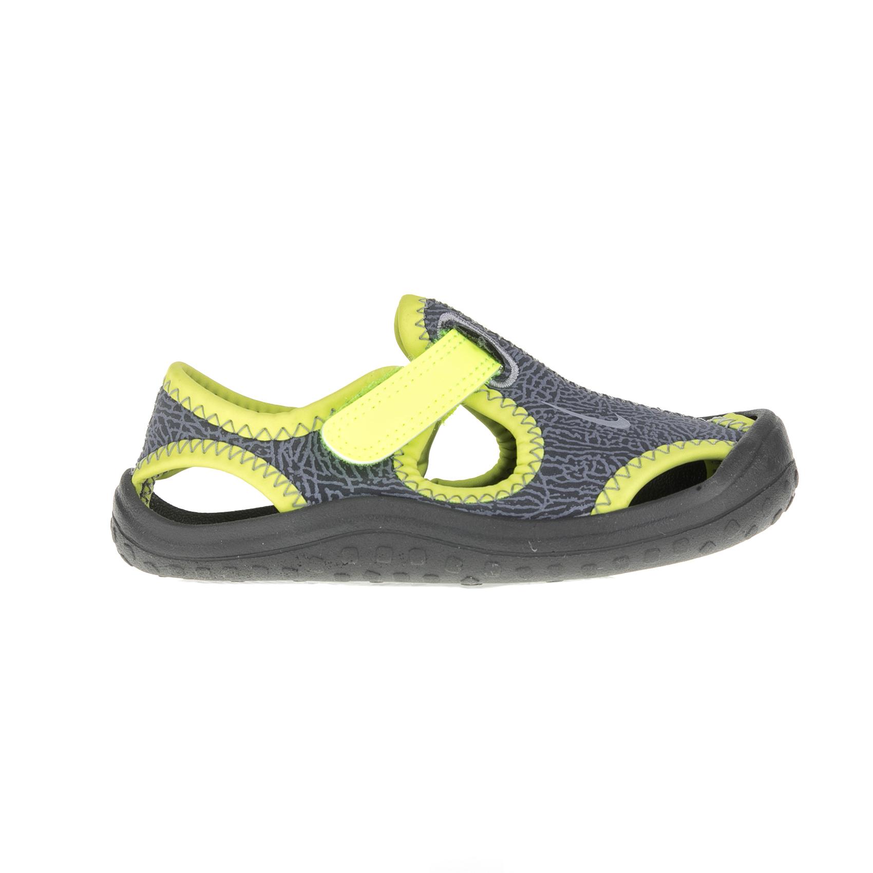 01f2cdcf1181 NIKE - Βρεφικά πέδιλα Nike SUNRAY PROTECT (TD) γκρι