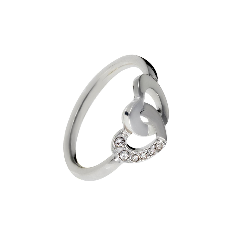 FOLLI FOLLIE - Δαχτυλίδι FOLLI FOLLIE επάργυρο 985c886da6f
