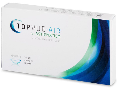 3f5987806e TopVue Air For Astigmatism Μηνιαίοι 3pack