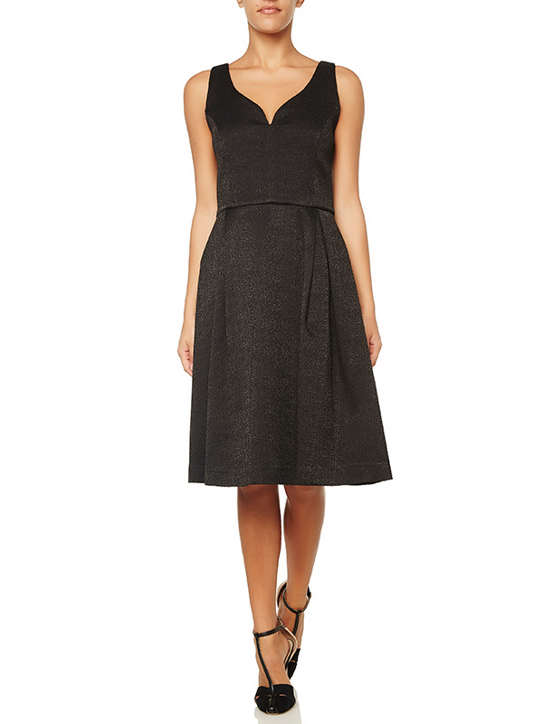3395e62c7e63 Φόρεμα με Ανοιχτό Μπούστο Μαύρο 6159180 | Γυναικεία Φορέματα ...