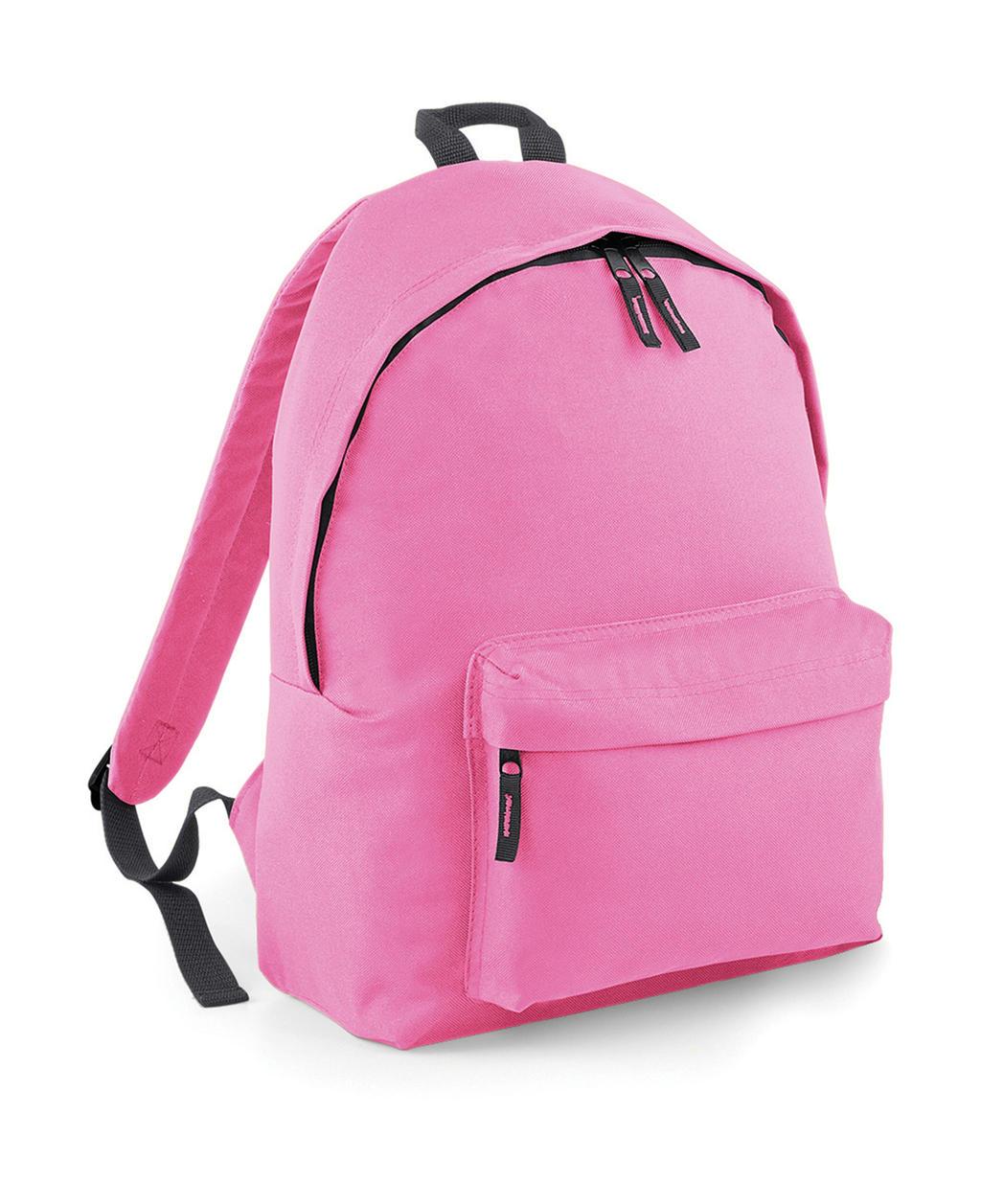 Bagbase BG125 Original Fashion Backpack Classic Pink Graphite Grey ... d343123b76b
