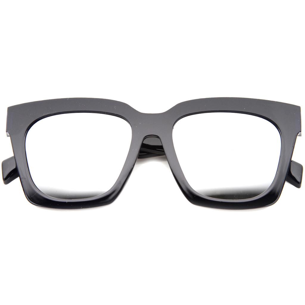 401c27363d Γυαλιά Ηλίου Γυναικεία ZeroUV A189 02 Μαύρο Τετράγωνο Ασημί Καθρέφτης  6129683