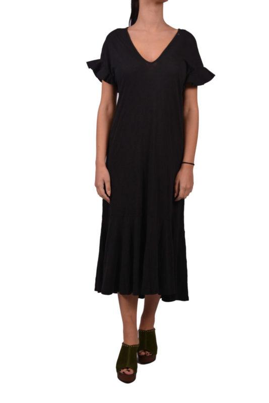 cf33f176fc89 Γυναικείο βαμβακερό μαύρο φόρεμα Replay W9453.0...