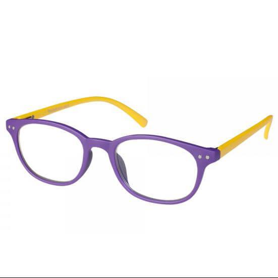 206368e186 Eyelead Γυαλιά Διαβάσματος Unisex Μωβ Κίτρινο Κοκκάλινο E155 - 1