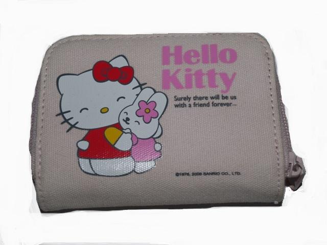 443fe53ff1 Πορτοφόλι υφασμάτινο ρόζ Hello Kitty Hug Friends original 3670947 ...