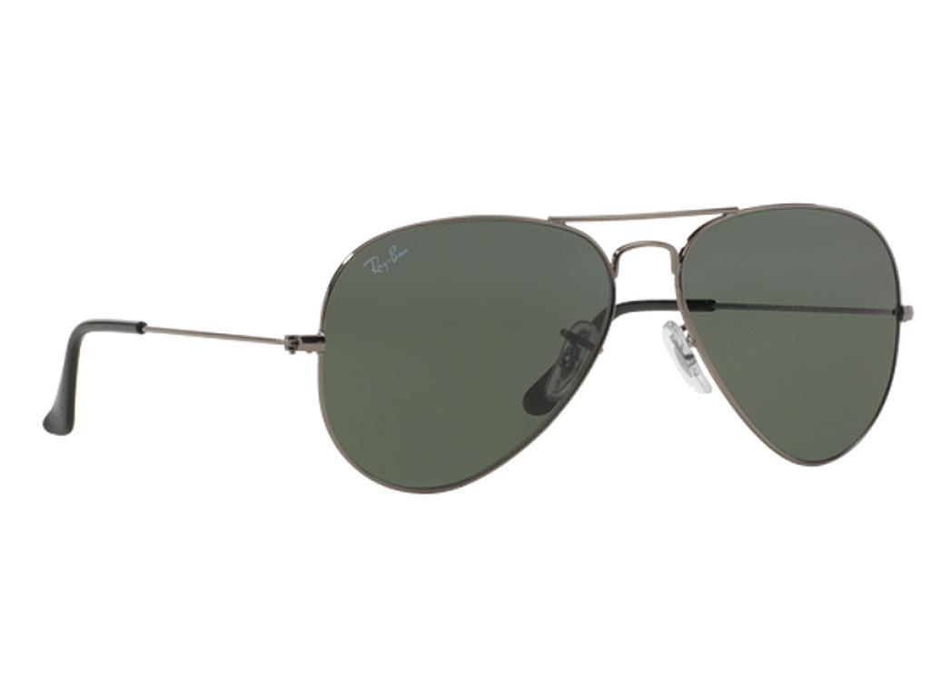Γυαλιά ηλίου Rayban Aviator Classic 3025 W0879 Ανθρακί Γκρι Πράσινο G15  (W0879) Κρύσταλλο d8c71763931