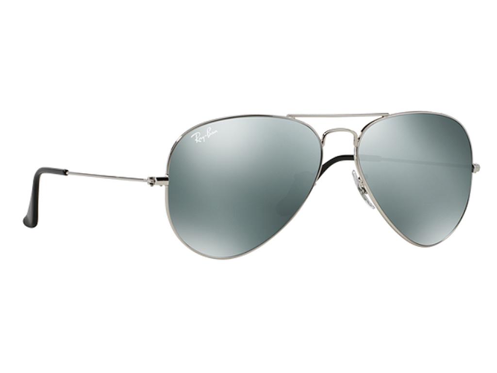0b72312466 Γυαλιά ηλίου RayBan Aviator Classic 3025 W3275 55-14 Small Ασημί Ασημί  Καθρέφτης (