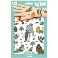 Djeco Τατουάζ 'βασιλιάς των ζώων'