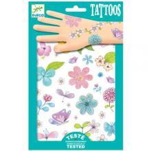 Djeco Τατουάζ 'Λουλουδάκια'