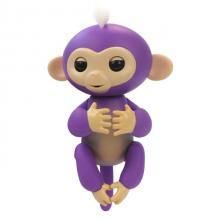 Ευτυχισμένο Κατοικίδιο Μαϊμού Δαχτύλου Μωβ (OEM)