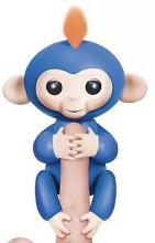 Ευτυχισμένο Κατοικίδιο Μαϊμού Δαχτύλου Μπλε (OEM)