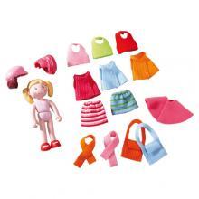 Haba μινι κούκλα 'Feli' 10εκ με έξτρα ντυσίματα