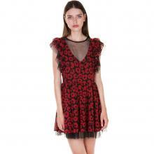 6c95d2a38bd5 Φόρεμα με βολάν και τούλι ΤΥΠΟΣ.