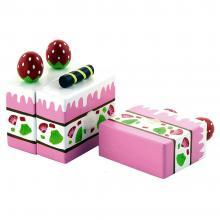 Viga Ξύλινο 'Κέικ Φράουλα'