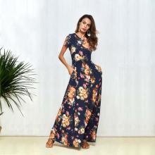 0741d8ccfd4d Φόρεμα Φλοράλ μακρύ 6903069