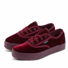 Sneakers δίπατα γυναικεία suede με κορδόνι 892e46ffd32
