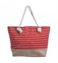 2a3e37f856 Τσάντα Θαλάσσης Υφασμάτινη