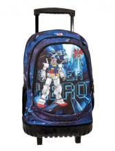 e3514ee226 Σακίδιο σχολικό trolley bag Lyc sac cosmos line.