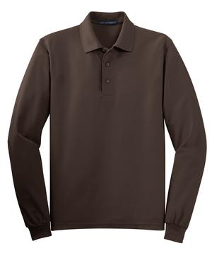 Port Authority 174 Long Sleeve Silk Touch Polo Silk Touch