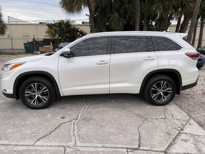 Used TOYOTA HIGHLANDER 2016 WEST PALM XLE