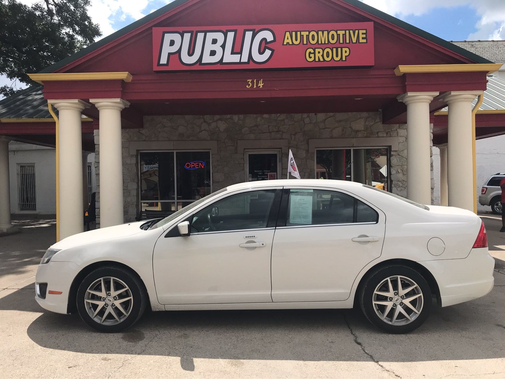 Used Ford Fusion 2012 WAXAHACHIE SEL