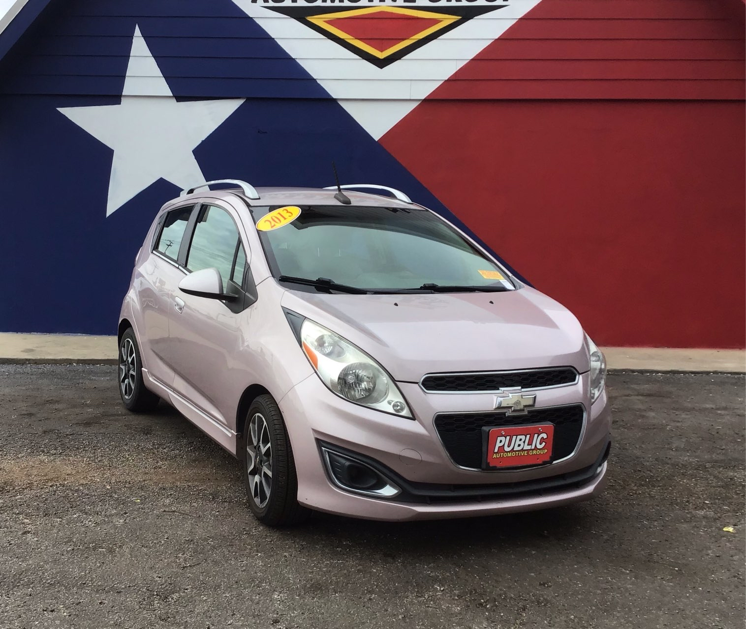 used vehicle - Automatic CHEVROLET SPARK 2013
