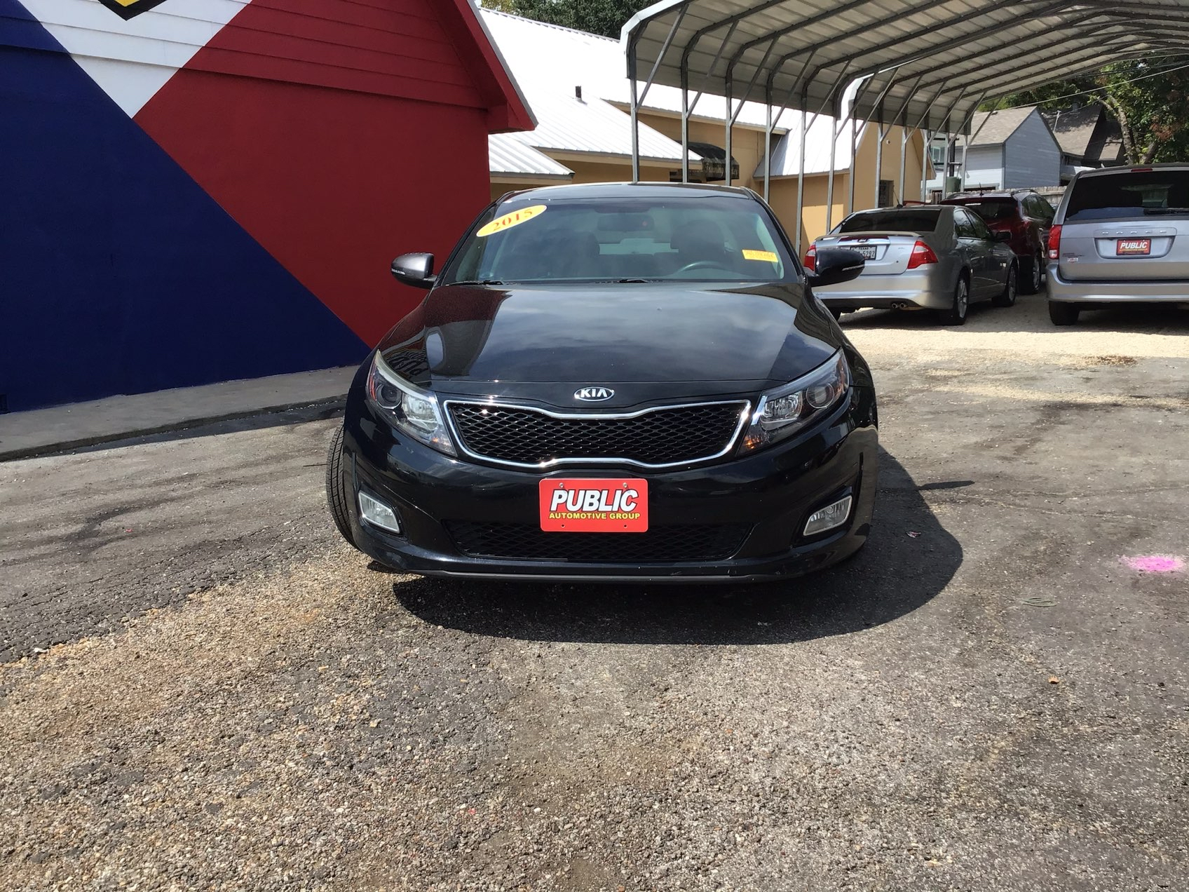 used vehicle - Sedan KIA OPTIMA 2015