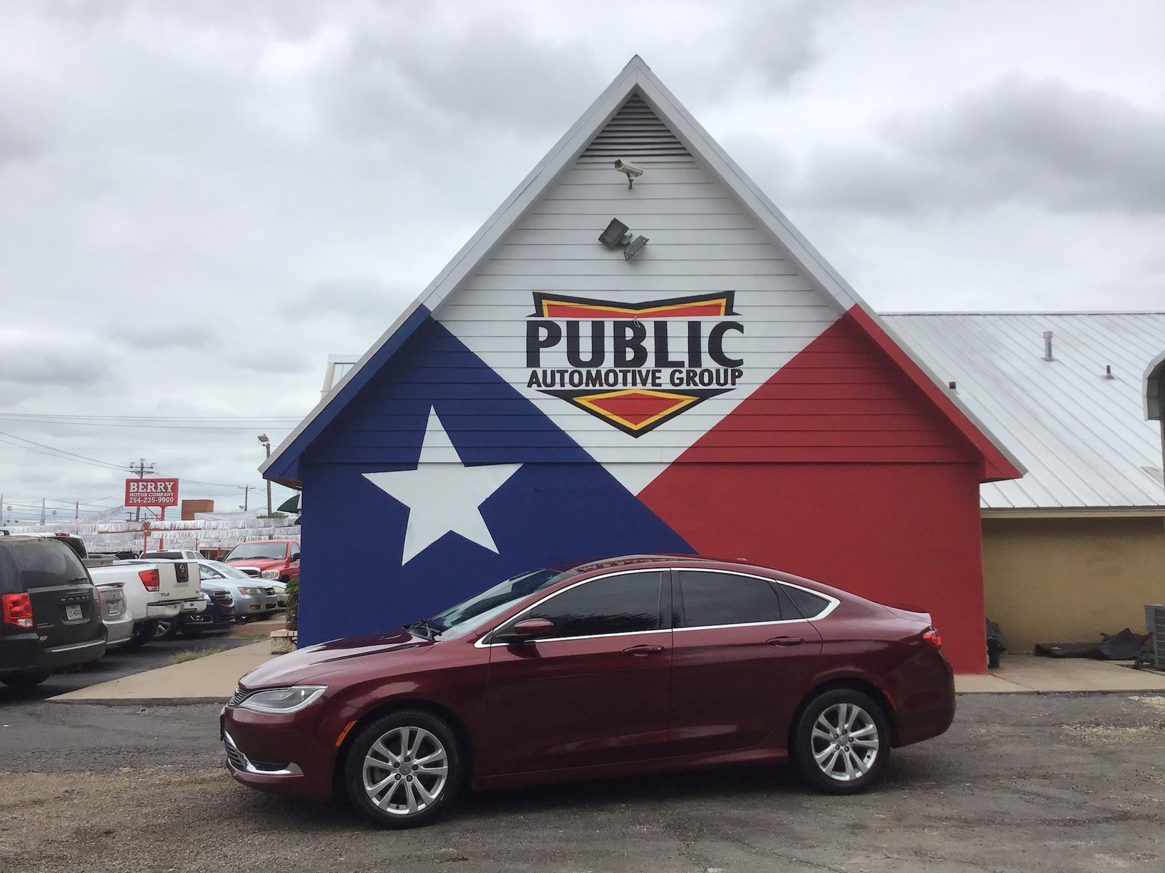 Used CHRYSLER 200 2015 WAXAHACHIE LIMITED