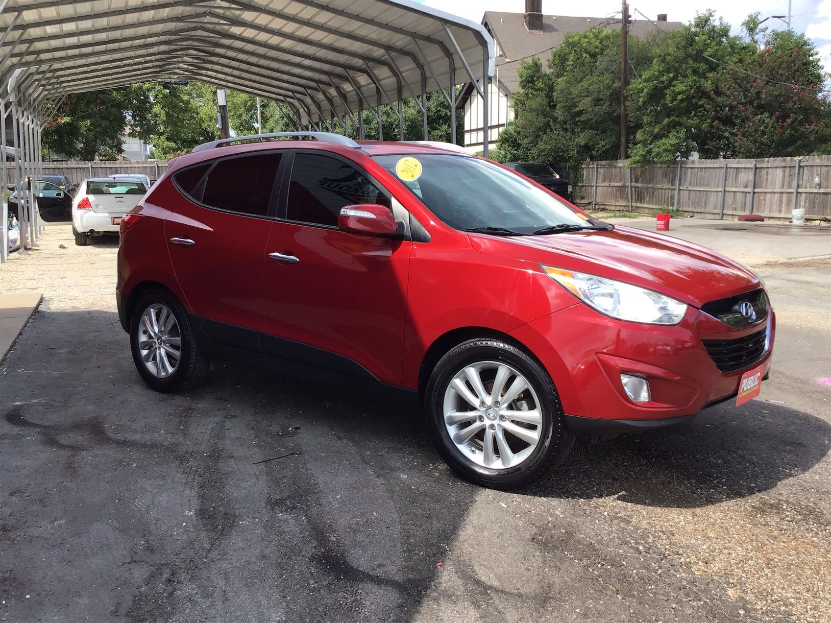 used vehicle - SUV HYUNDAI TUCSON 2012
