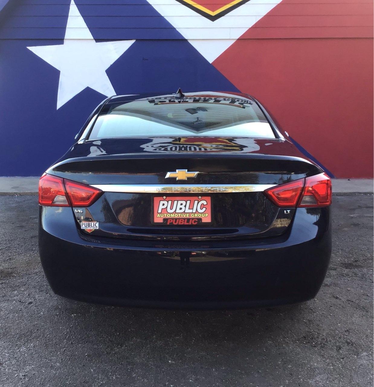 used vehicle - Sedan CHEVROLET IMPALA 2016