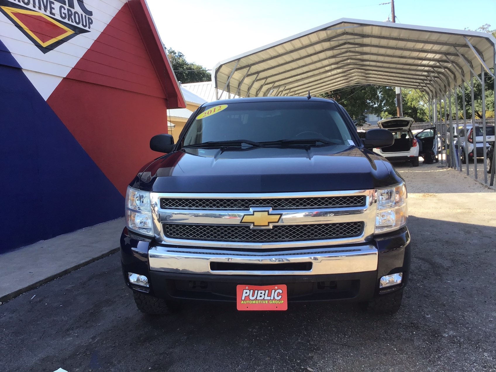 used vehicle - Truck CHEVROLET SILVERADO 1500 2012