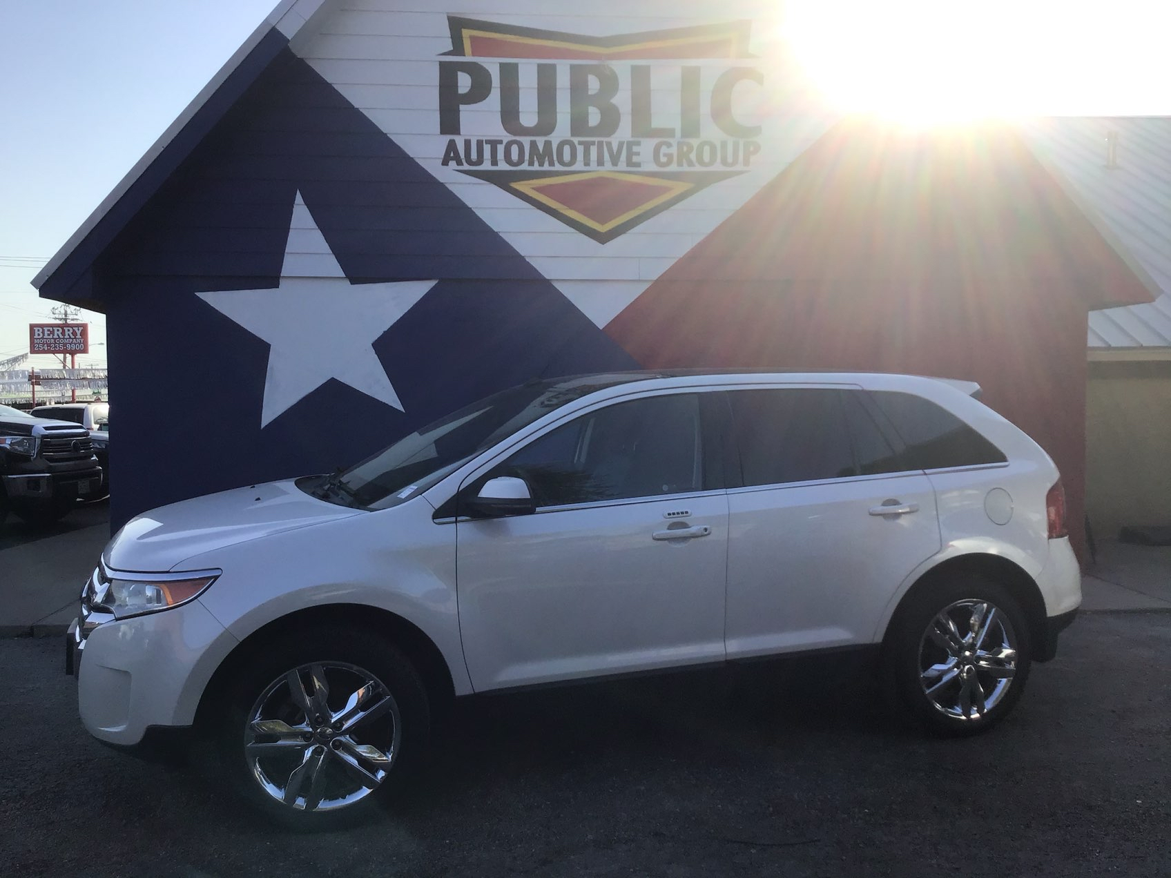 Used FORD EDGE 2013 TEMPLE LIMITED